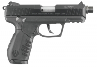 RUGER SR22PB .22 Long Rifle 3.5 Inch Stainless Steel Threaded Barrel