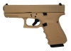 GLOCK 19 Gen4 9mm 4 Inch Barrel Hot Cerakote Desert Sand